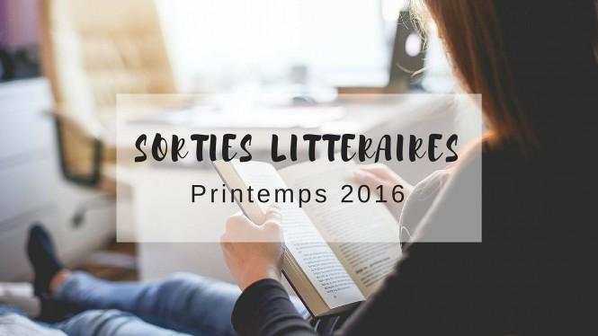 Sorties littéraires